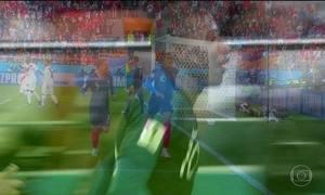 Com ataque forte, França passa de fase e desclassifica seleção peruana