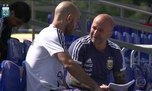 Em último lugar no Grupo D da Copa, Argentina precisa vencer a Nigéria