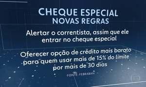 Cheque especial, um dos créditos mais caros do país, tem novas regras
