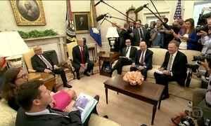 Casa Branca impede repórter da CNN de cobrir evento com Trump