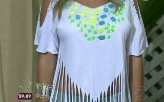 219beefead9a3 Uma camisa customizada para cada ocasião - notícias em O programa - Mais  Você
