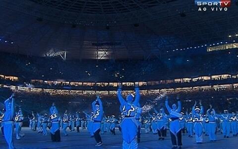 Veja como foi a festa de inauguração da Arena