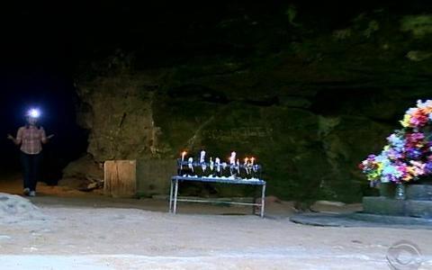 Maior caverna do RS fica em Nova Esperança