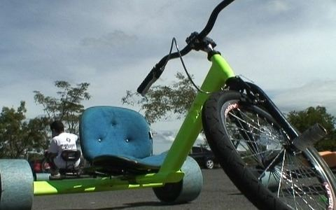 Trike vira esporte radical nas ruas 