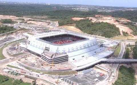 Arena Pernambuco pronta para primeiro evento-teste