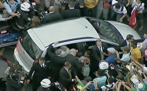 Papa Francisco agradece acolhida no Rio de Janeiro