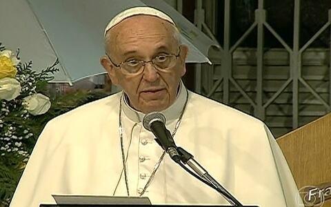 Papa reitera posição da Igreja quanto ao uso de drogas em hospital no Rio
