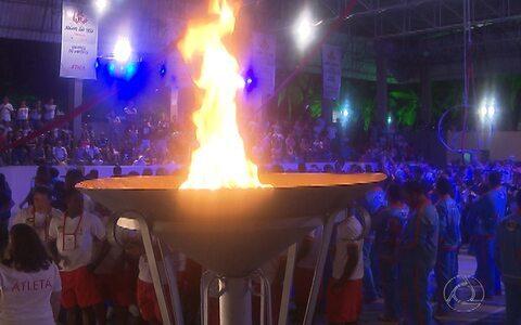 Veja como foi a abertura dos Jogos Regionais do Sesi