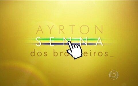 Brasileiros falam de boas memórias com Senna