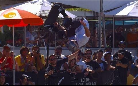 Pedro Barros vence etapa de Madureira do Mundial de Skate Bowl