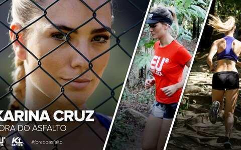 Fora do Asfalto: Karina Cruz encara trilhas e ladeiras em treino puxado