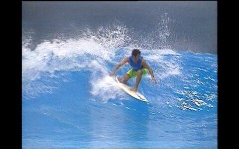 Piscina de ondas pode ser solução para surfe durante as Olimpíadas em país sem ondas