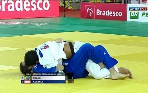 Lincoln Neves vence Dominik Lang pelo desafio internacional de judô