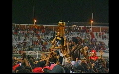 Confira como foi a conquista do tricampeonato do Sergipe