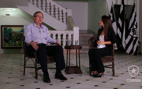 Presidente Carlos Eduardo Pereira conta algumas das histórias de superstição