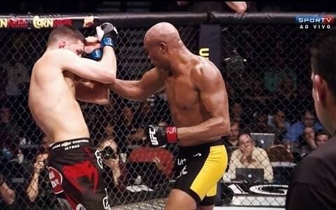 Anderson Silva está de volta ao ranking dos pesos-médios do UFC