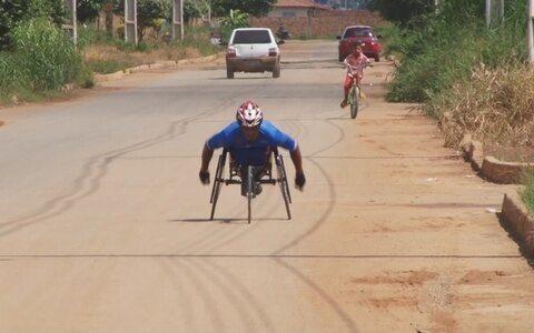 Após acidente de trabalho, ex-garimpeiro supera dificuldades através do esporte