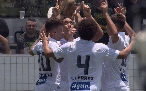 Os gols de Santos 2 x 1 Ituano