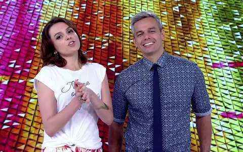 Iozzi e Otaviano mostram 2º dia de desfiles do RJ (Globo)