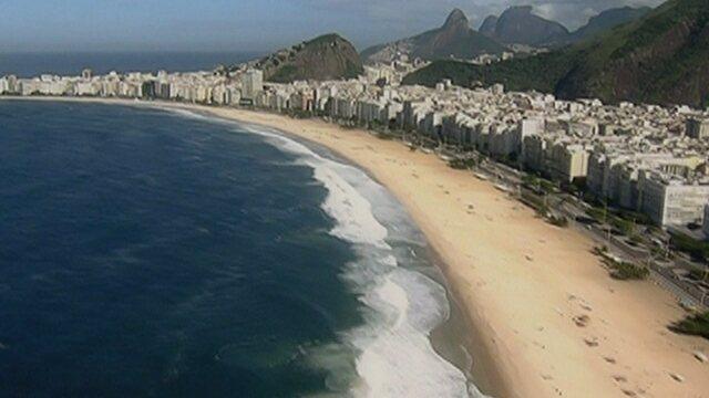Vídeo exibe passeio pelas paisagens do Rio de Janeiro, sede olímpica de 2016