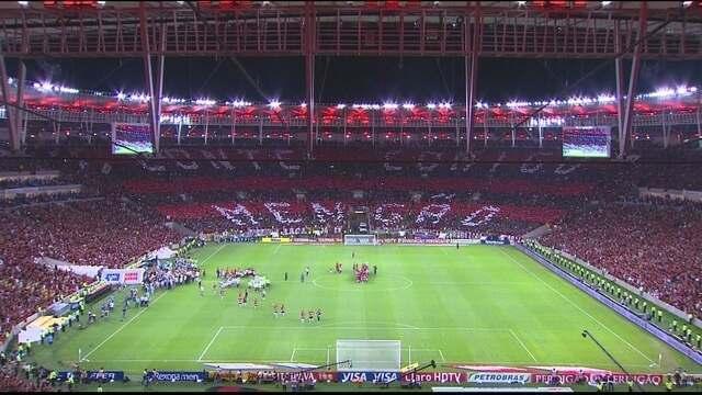 Em dia de festa, Flamengo é o primeiro clube a conquistar um título no novo Maracanã