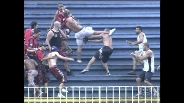 Promotores do Paraná querem proibir a torcida do Atlético-PR de ir aos estádios