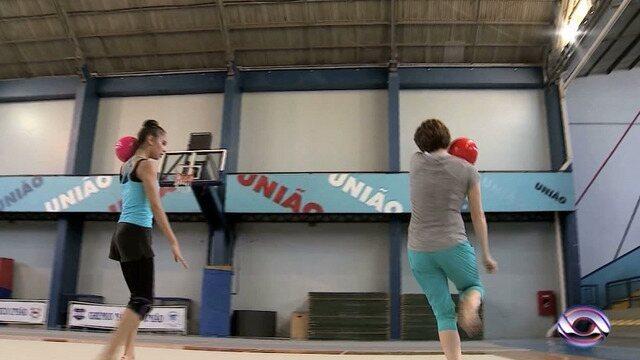 Técnica russa treina ginastas que sonham em participar das Olimpíadas