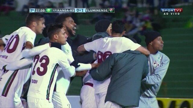 Os gols de Ypiranga-RS 0 x 2 Fluminense pela 3ª fase da Copa do Brasil