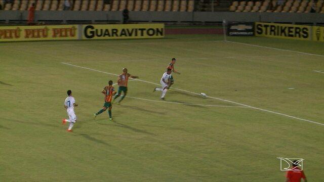 Sampaio perde para o Avaí no Campeonato Brasileiro Série B