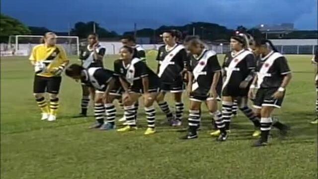 Reveja os gols da partida entre Paraíso e Vasco na Copa do Brasil Feminino 2003