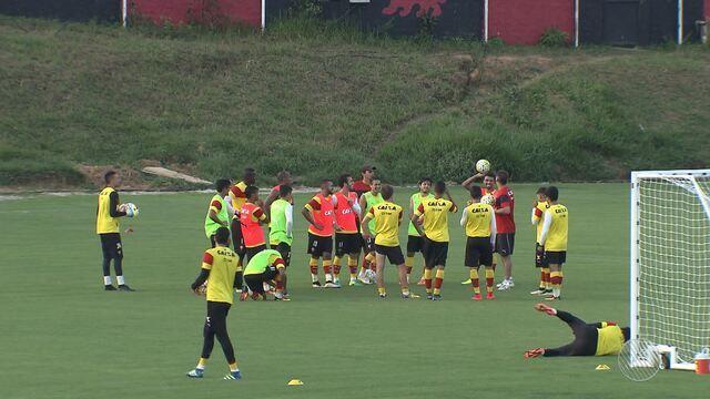 Vitória se prepara para estreia na Copa Sul-americana de Futebol