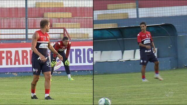 Éverton e Juninho estão de volta no Fortaleza