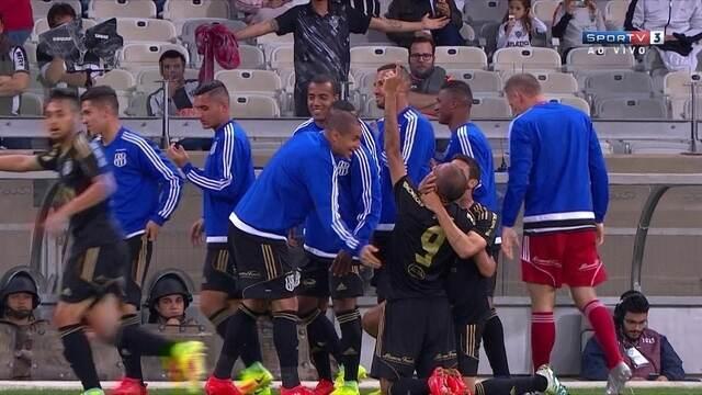 Os gols de Atlético-MG 1 x 1 Ponte Preta pelas oitavas de final da Copa do Brasil