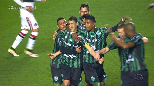 Em jogo histórico, Juventude vence o São Paulo no Morumbi