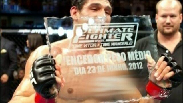 César Mutante, lutador do UFC, comenta como começou se interessar pelo esporte