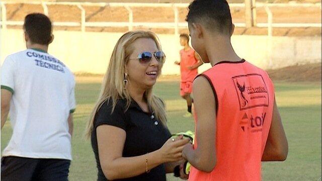 'Imagine' é o primeiro time de futebol de Palmas presidido por uma mulher