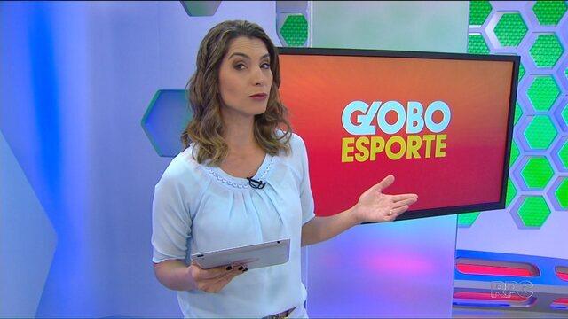 Veja a íntegra do Globo Esporte Paraná desta sexta-feira, 26/08/2016
