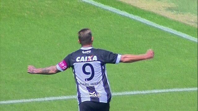 O gol de Santos 0 x 1 Figueirense pela 22ª rodada do Campeonato Brasileiro