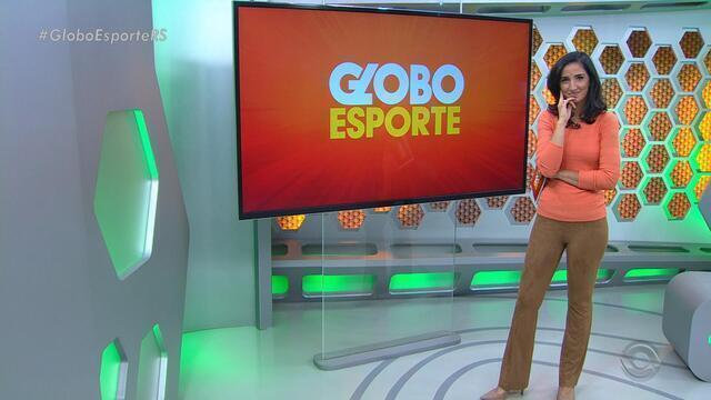 Globo Esporte RS - Bloco 3 - 29/08