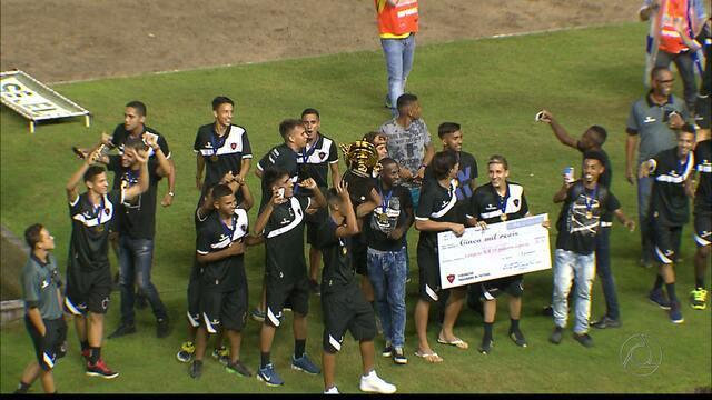 Botafogo-PB fica com o título do Campeonato Paraibano Sub-19