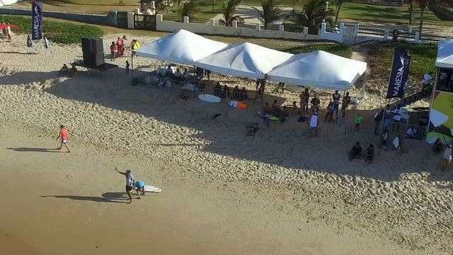 Veja como foi a primeira etapa do Campeonato Cearense de Surfe