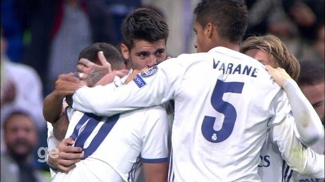 Gols de Real Madrid 2 x 1 Sporting pela 1ª rodada da fase de grupos da Liga dos Campeões