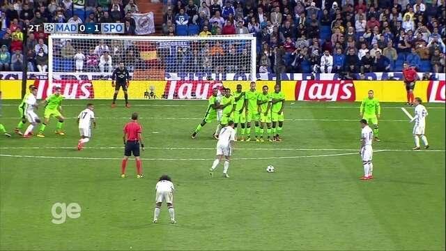 Melhores momentos: Real Madrid 2 x 1 Sporting pela fase de grupos da Liga dos Campeões