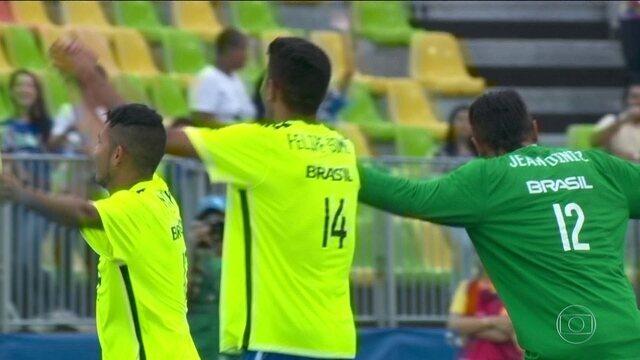 Brasil vence Holanda por 3 a 1 e leva o bronze no futebol de 7 da Paralimpíada