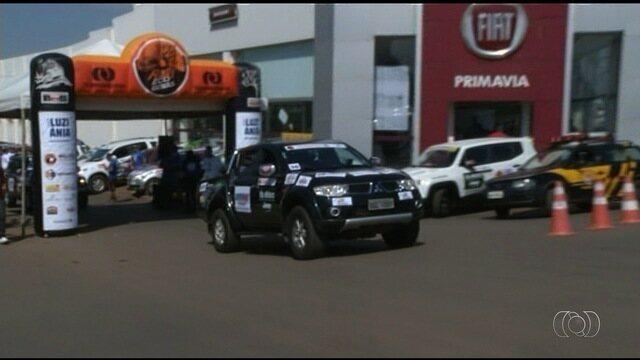 Rally Eco Goiás chega a Luziânia com mais de 50 competidores