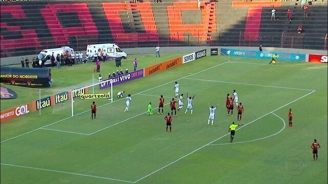 Sport se prepara para pegar o Santos