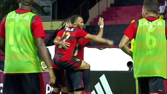 O gol de Sport 1 x 0 Santos pela 27ª rodada do Campeonato Brasileiro