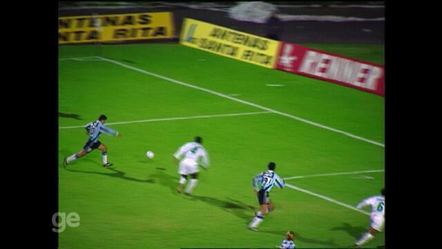 Grêmio e Palmeiras empatam em 1x1 pela Copa do Brasil de 95