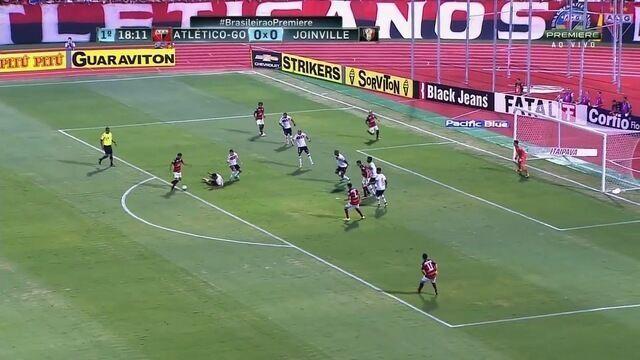 Melhores Momentos de Atlético-GO 1 x 1 Joinville - 28ª rodada da Série B
