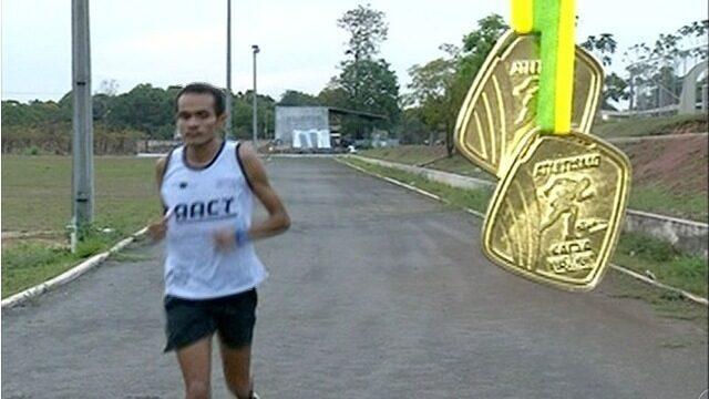 Araguainense Athila Teles conquista duas medalhas de ouro no Norte e Nordeste de Atletismo